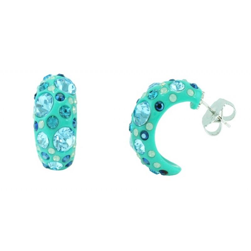 Angélique de Paris Turquoise Confetti Earrings 16866