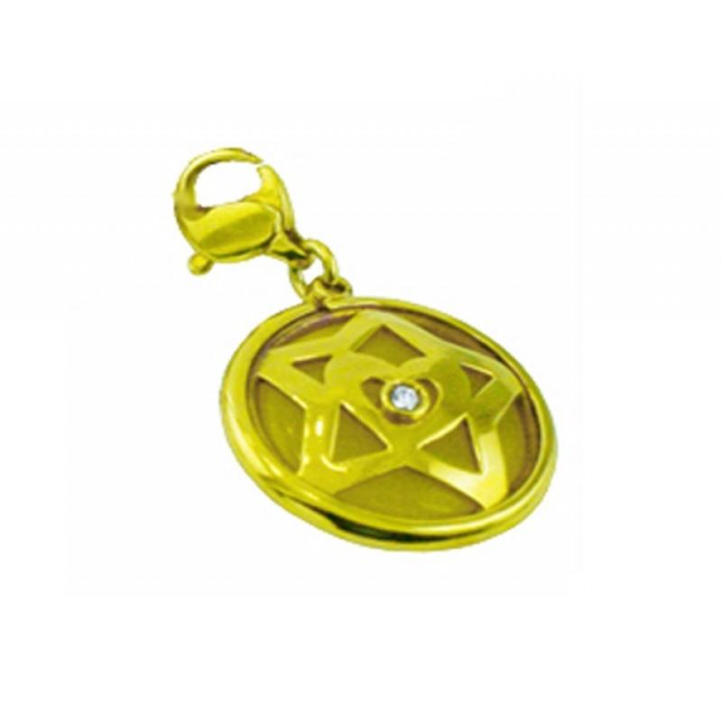 Escada Yellow Moonstone and Diamond Success Charm MC-08ND