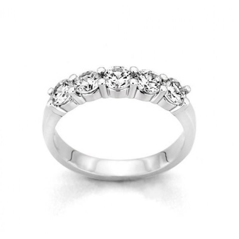 Five Stone Diamond Ring 27935