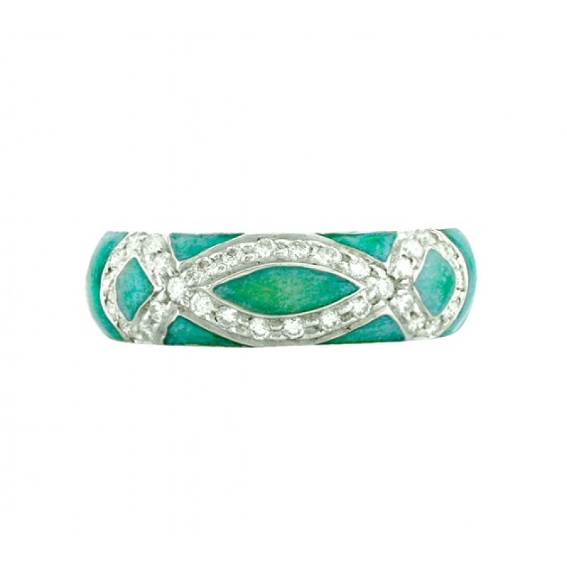 Hidalgo Enamel and Diamond Ring RR1142OBE