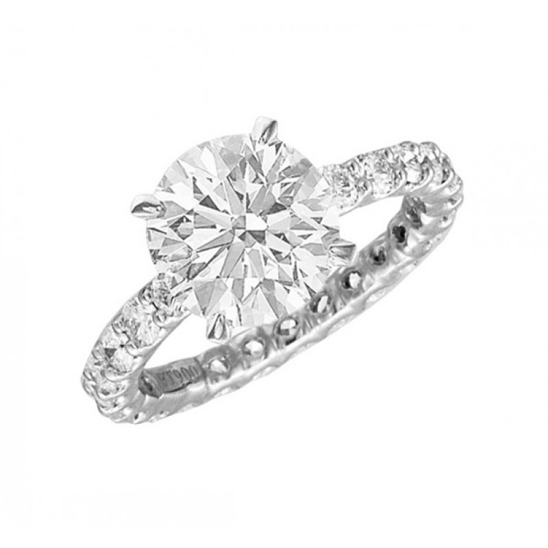 JB Star Diamond Eternity Engagement Ring 2321-049