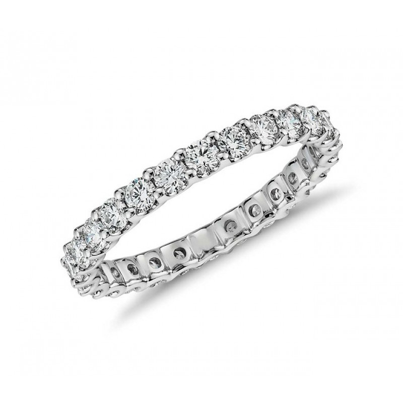 JB Star U-Prong Diamond Eternity Ring Top 5084/029