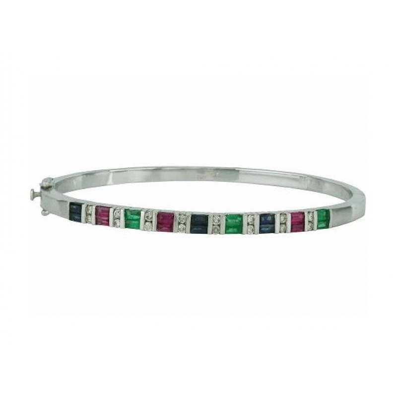 bracelet gemstone multi