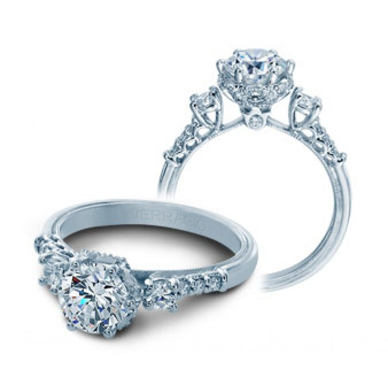 Verragio Classic Diamond Engagement Ring V-912RD7