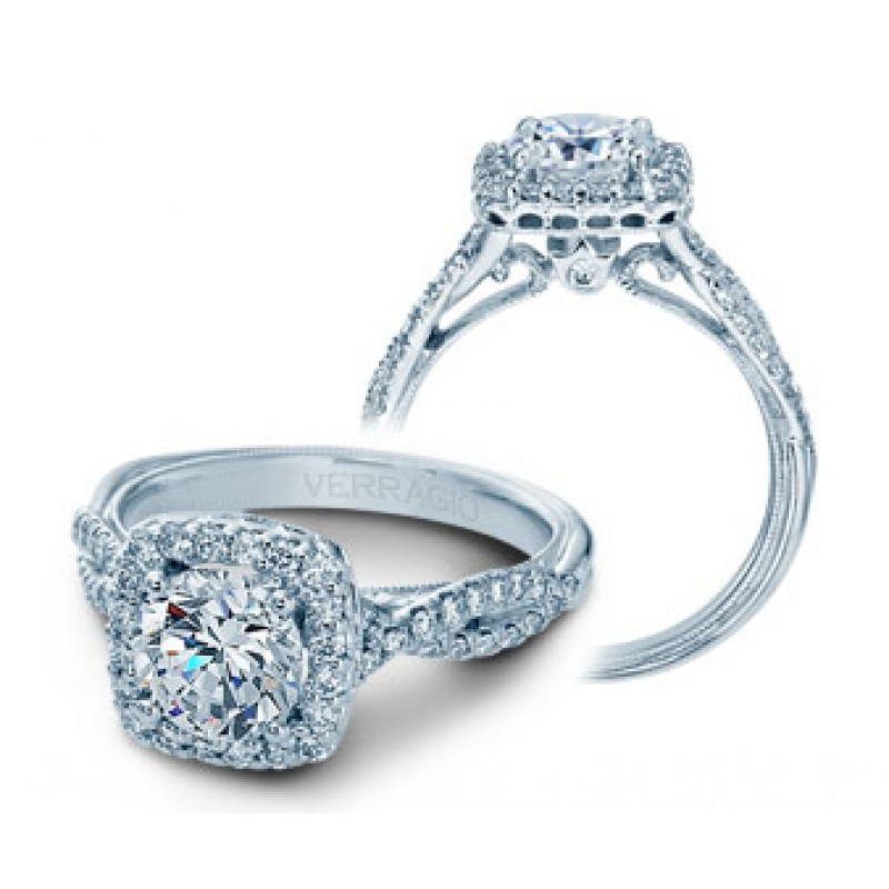 Verragio Classic Diamond Engagement Ring V-918CU7