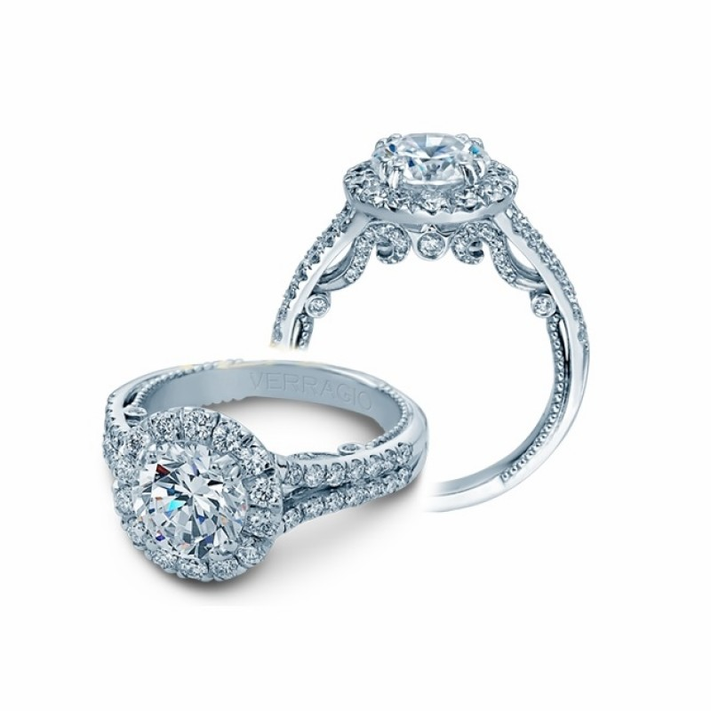 Verragio Insignia Diamond Engagement Ring INS-70622RL