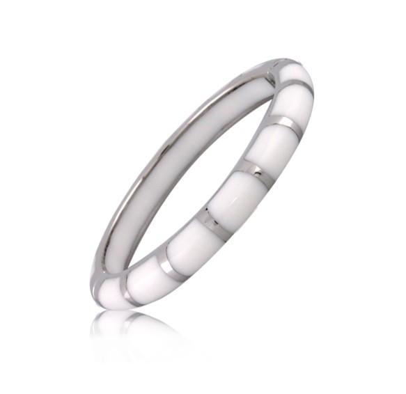 Angélique de Paris White Lido Bracelet 22178