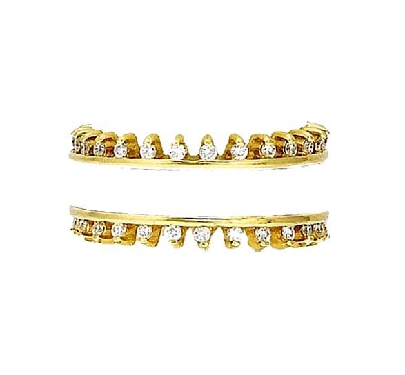 Hidalgo Diamond Ring Guards RS7042
