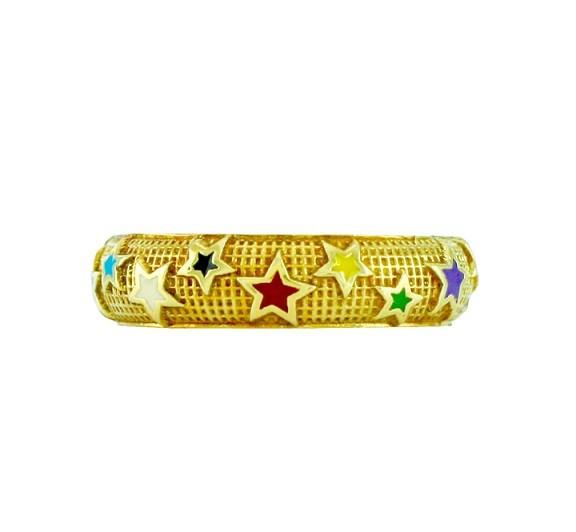 Hidalgo Stars Enamel Ring RN2350M