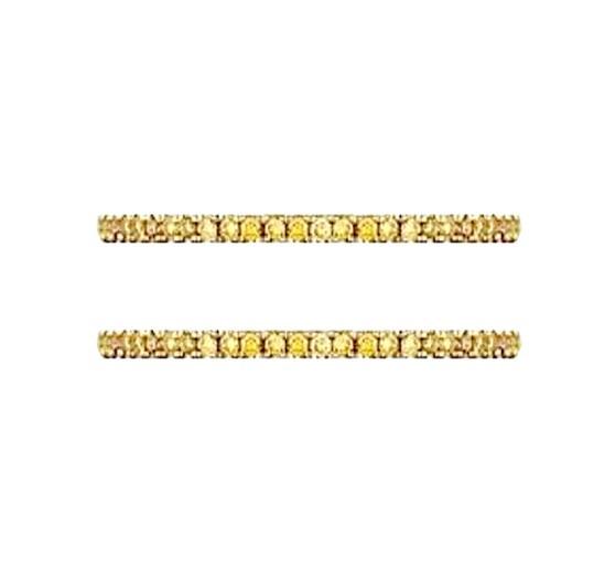 Hidalgo Yellow Diamond Ring Guards DR21884