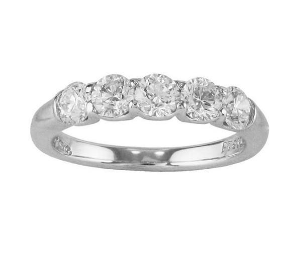 JB Star Five Stone Diamond Ring Top 5066/005