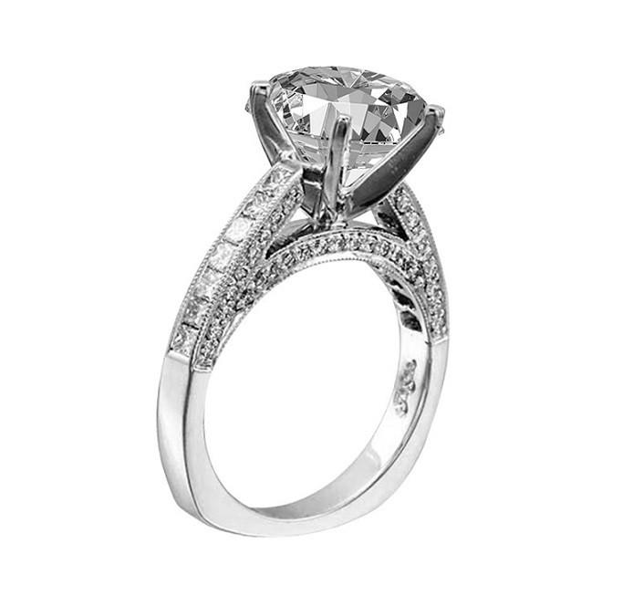 JB Star Heirloom Diamond Engagement Ring