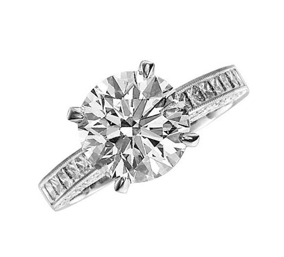 JB Star Heirloom Diamond Engagement Ring Top 1519/089