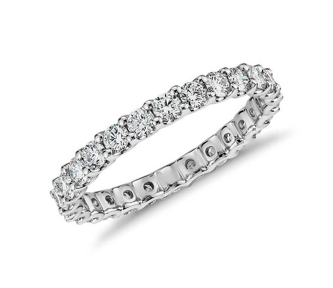 JB Star U-Prong Diamond Eternity Ring Top 5084/031