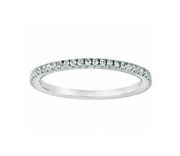 Martin Flyer Pavé Diamond Ring 5201WBPL-1