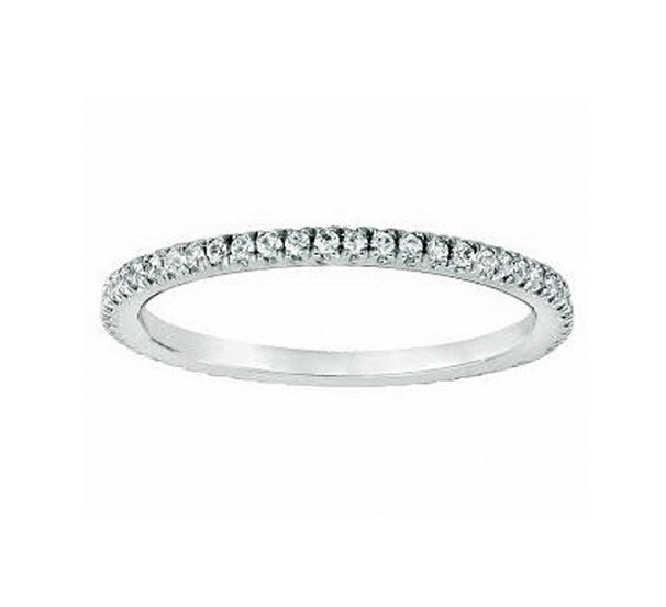 Martin Flyer Pavé Diamond Ring 5201WBPL