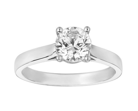 Martin Flyer Solitaire Engagement Ring Top 5014-RXLPL