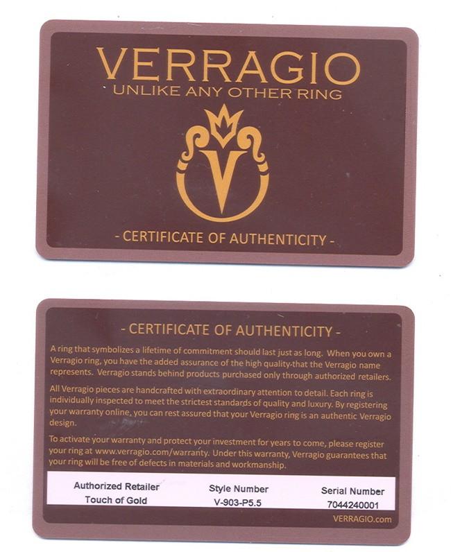 Verragio Classic Diamond Engagement Ring