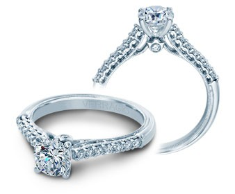 Verragio Classic Diamond Engagement Ring V-901R6