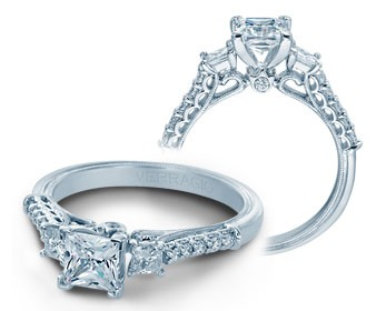 Verragio Classic Diamond Engagement Ring V-904P5.5