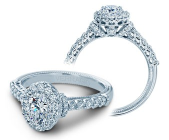 Verragio Classic Diamond Engagement Ring V-908OV