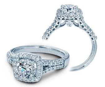 Verragio Classic Diamond Engagement Ring V-913CU7