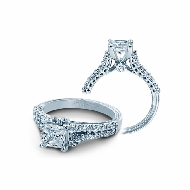 Verragio Classic Diamond Engagement Ring V910-R7