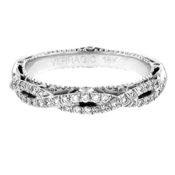 Verragio Venetian Diamond Wedding Band AFN-5005W-1