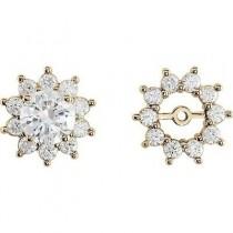 Diamond Earring Jackets 29425