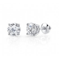 Diamond Stud Earrings 23164