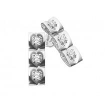 Escada Diamond Drop Earrings 0362-BS