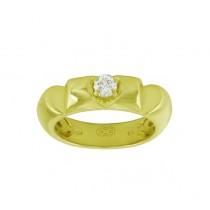 Escada Three Hearts Diamond Ring 00D2-I