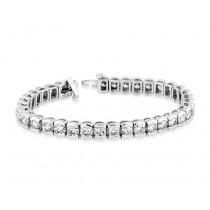 Martin Flyer Bezel Set Diamond Tennis Bracelet B21-8409
