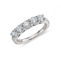 Martin Flyer Five Stone Diamond Ring 26879