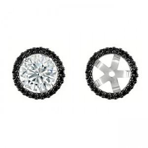 Black Diamond Earring Jackets 27994a