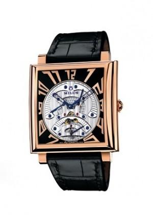 Milus Mens Herios Triretrograde Watch HERT400