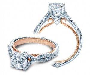 Verragio Couture Diamond Engagement Ring ENG-0421R-TT
