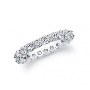 14k White Gold White Diamond Eternity Band 54800/0.50-W