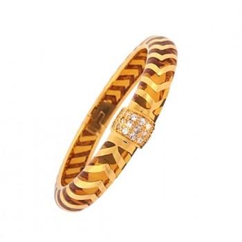 Angélique de Paris Mata Hari Amber Vermeil Bracelet 16748