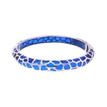 Angélique de Paris Safari Thin Blue Bracelet 21445