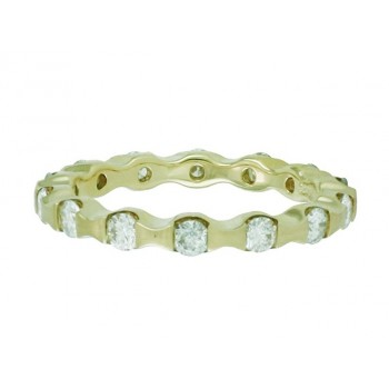 Bar Channel Diamond Eternity Ring Top 14238