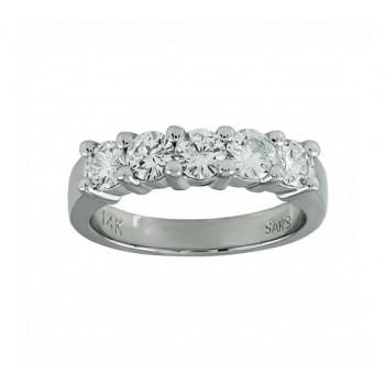 Five Stone Diamond Ring 28597