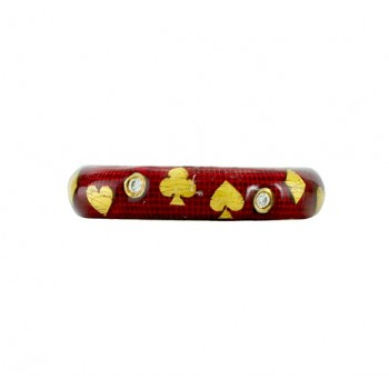 Hidalgo Playing Cards Enamel Ring RS7574R