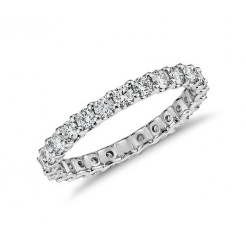 JB Star Platinum Diamond Eternity Ring Top 2321/101