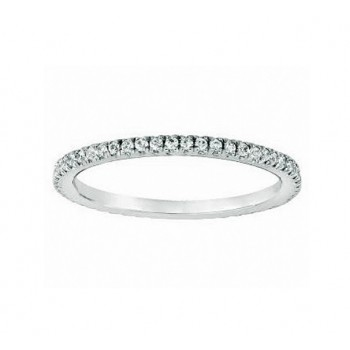 Martin Flyer Pavé Diamond Ring 5201WBPL