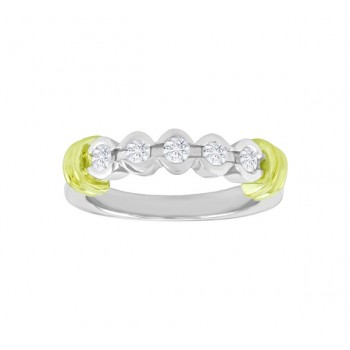 Semi Bezel Set Diamond Ring 23972